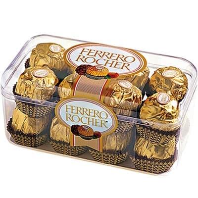 Подарок из хрустящей конфеты FERRERO (200 гр.) - Фото 97