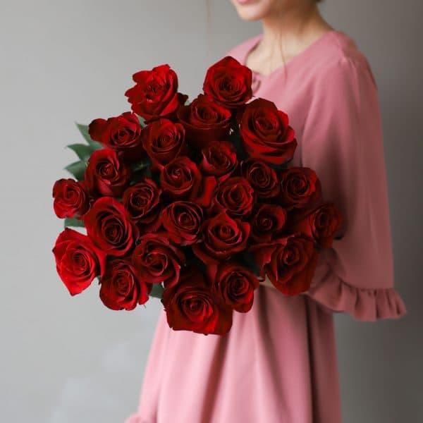 Монобукет из 15 роз (Эквадор) №1040 - Фото 3