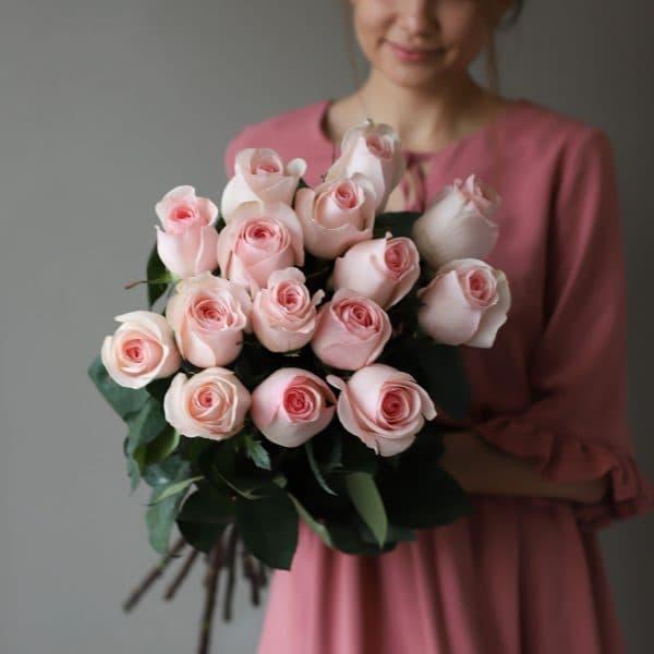 Монобукет из 15 роз (Эквадор) №1043 - Фото 1