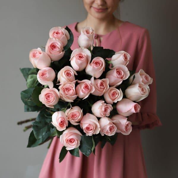 Монобукет из 25 роз (Эквадор) №1044 - Фото 35