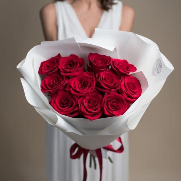 Букет из красных Роз №719 - Фото 41