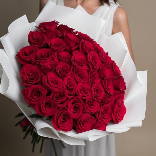 Букет из красных Роз №721 - Фото 2
