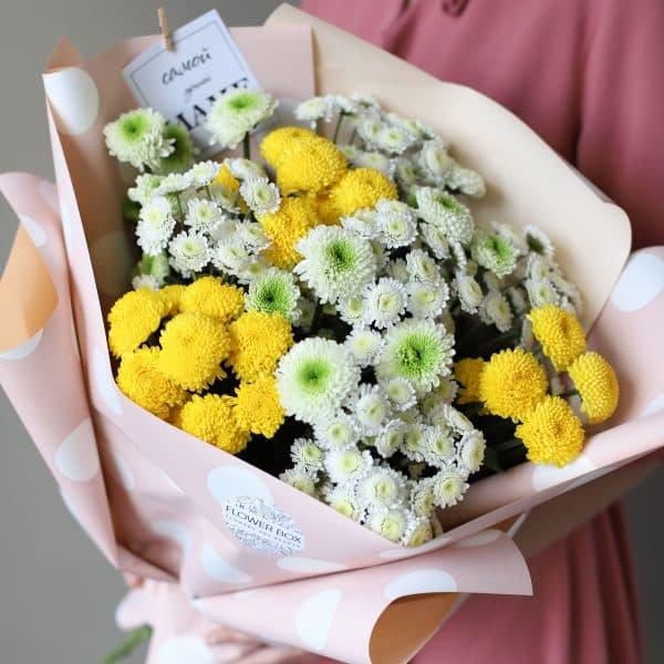 Букет из кустовых хризантем 11 шт №901 - Фото 6