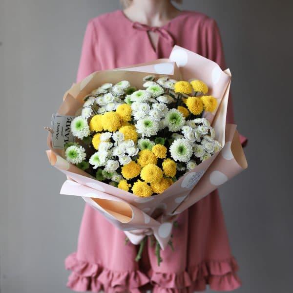 Букет из кустовых хризантем 11 шт №901 - Фото 1