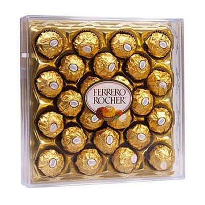 Подарок из хрустящей конфеты FERRERO (300 гр.) - Фото 34