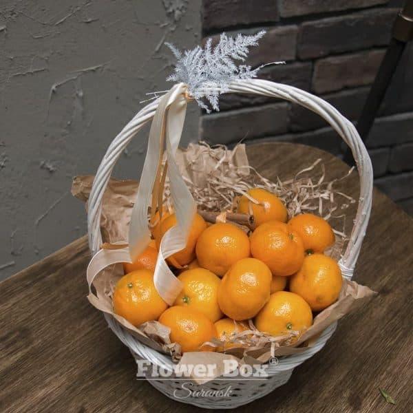 Корзина с мандаринами №222 - Фото 1