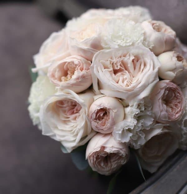 Классический букет с пионовидными розами №997 - Фото 1