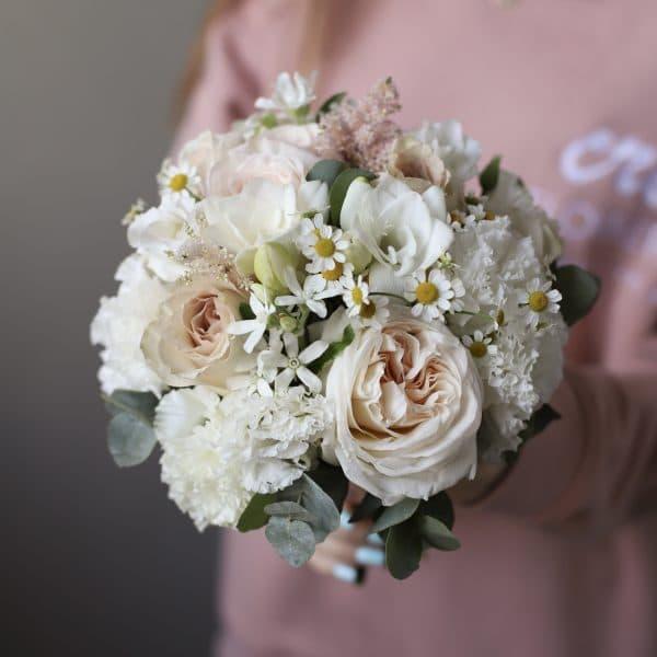 Летний букет невесты с ромашками №990 - Фото 1