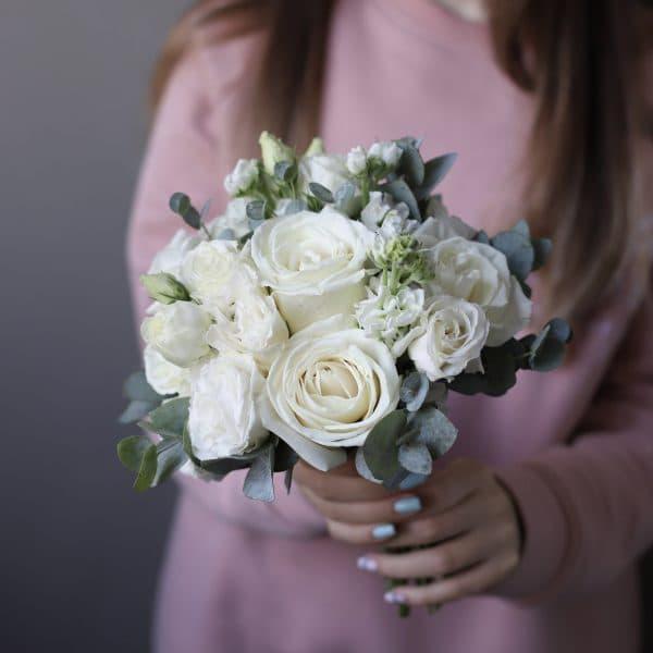 Белый букет невесты №987 - Фото 5