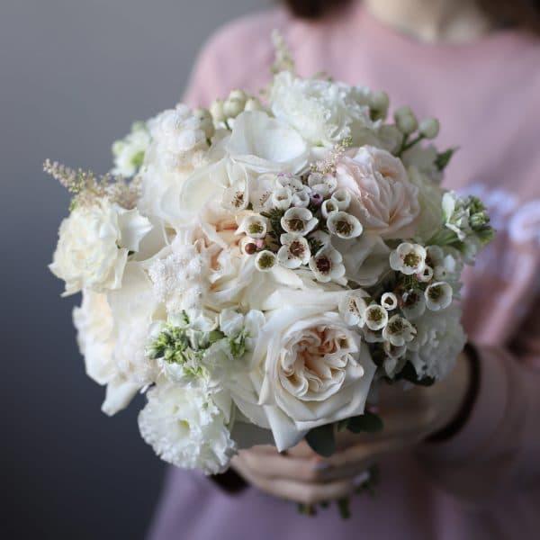 Нежный букет невесты  в классическом стиле №961 - Фото 2