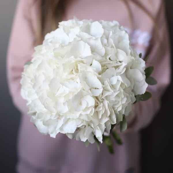 Свадебный букет из гортензии №950 - Фото 8