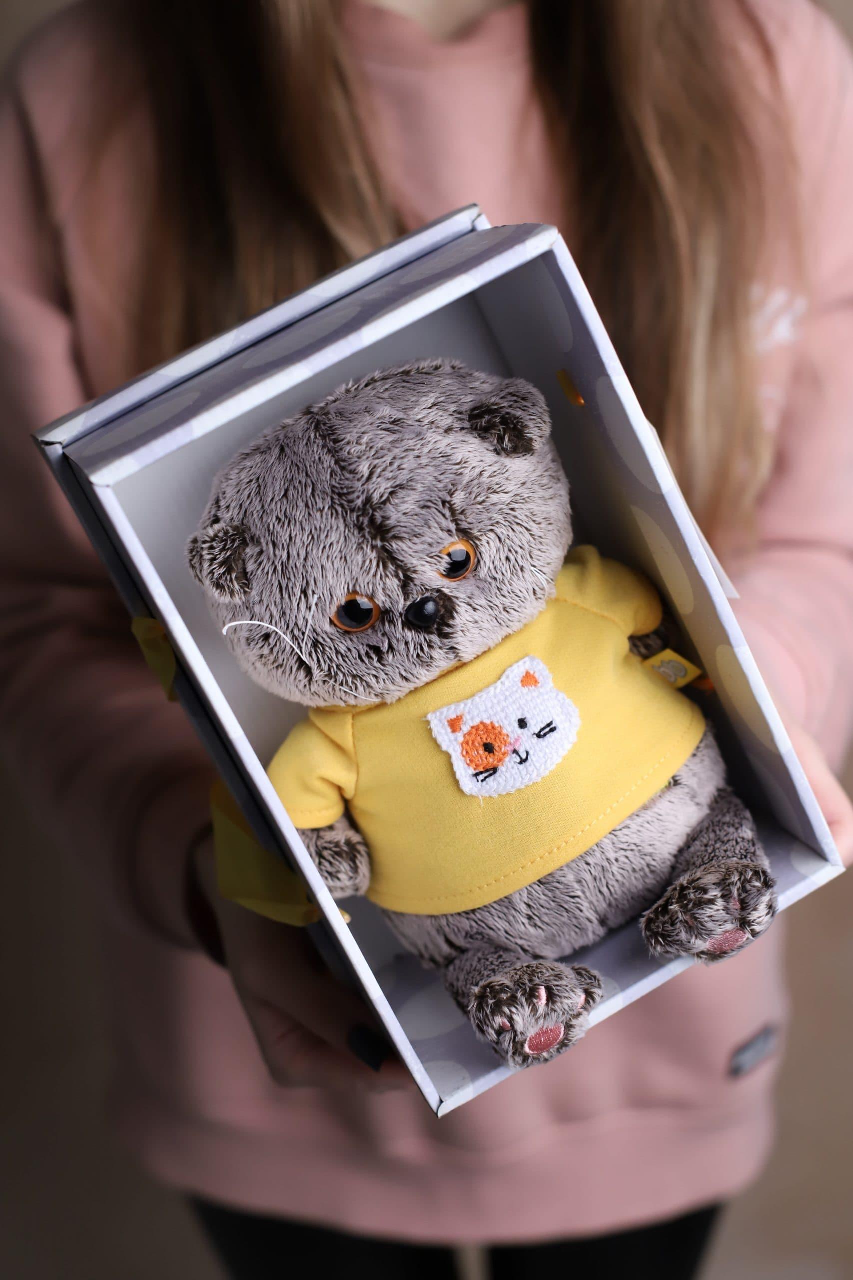 """Кот Басик """"Baby"""" - Мягкая игрушка №930 - Фото 2"""