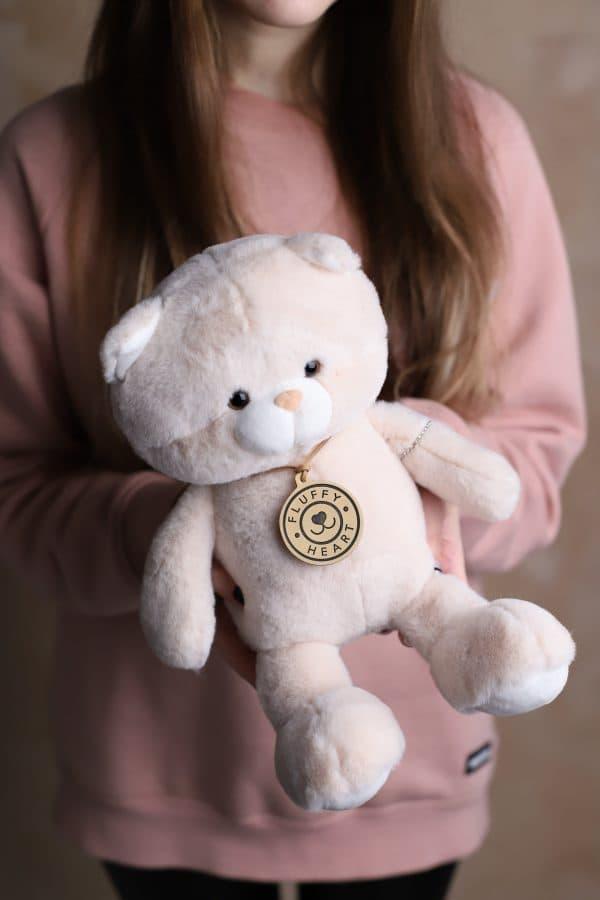 Мишка Fluffy Heart - Мягкая игрушка №932 - Фото 2