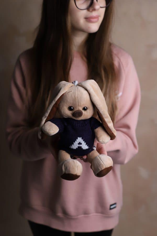 Зайка в кофте - Мягкая игрушка №440 - Фото 1