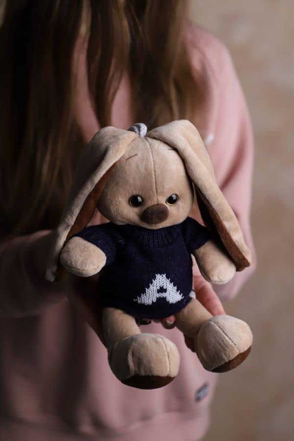 Зайка в кофте - Мягкая игрушка №440 - Фото 2