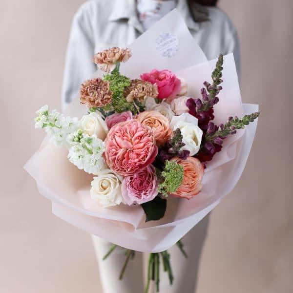 Букет с премиальными сортами цветов №851 - Фото 2