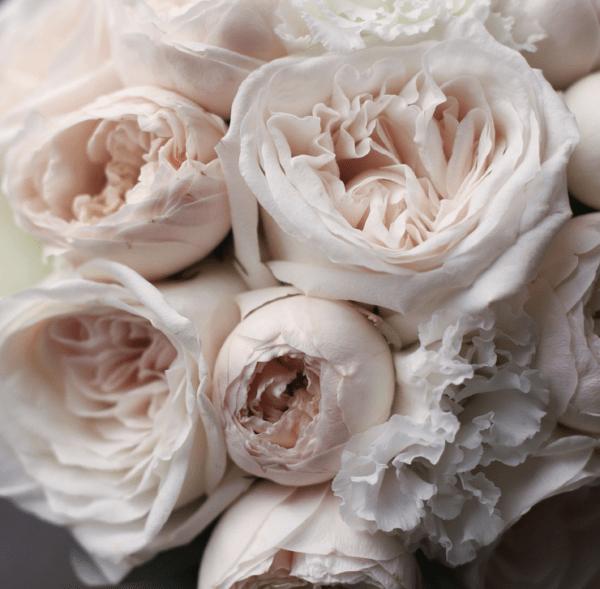Классический букет с пионовидными розами №997 - Фото 2
