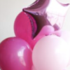 Связка из шариков с фольгированной звездой  №291 - Фото 5